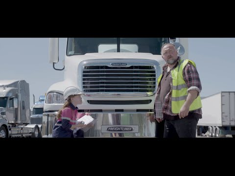 Columbia CL112 Truck Walk Around | Freightliner Australia | Class Leading In Safety And Construction