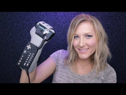 Time Travel Tingles: NES Power Glove 🎮 ASMR