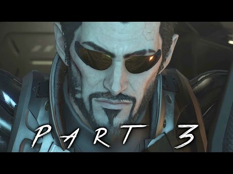 Deus Ex Mankind Divided Walkthrough Gameplay Part 3 - Golem (PS4)
