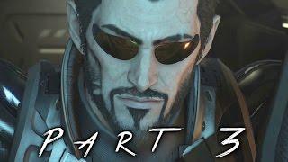 Deus Ex Mankind Divided Walkthrough Gameplay Part 3 - Golem (PS4)
