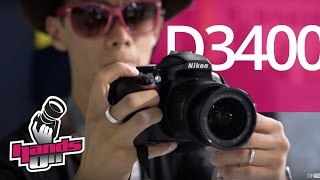 Nikon D3400 Hands-on First Impression