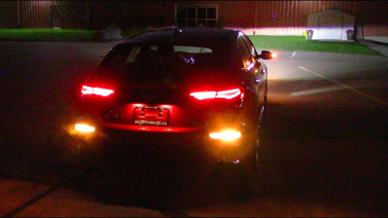 2020 Kia Forte At Night Full Exterior And Interior Lighting