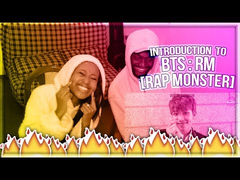 INTRODUCTION TO BTS : RM (RAP MONSTER) VERSION - WE THANK YOU FOR BTS!! | REACTION