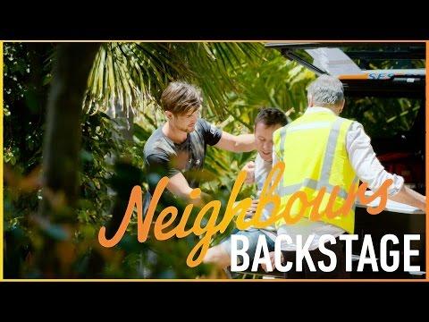 Neighbours Backstage  Kip Gamblin on shooting emotional s