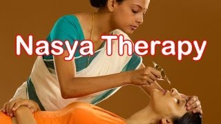 Charak Nasya Ayurvedic Therapy for Migraine, Loss of Hair, Memory Loss
