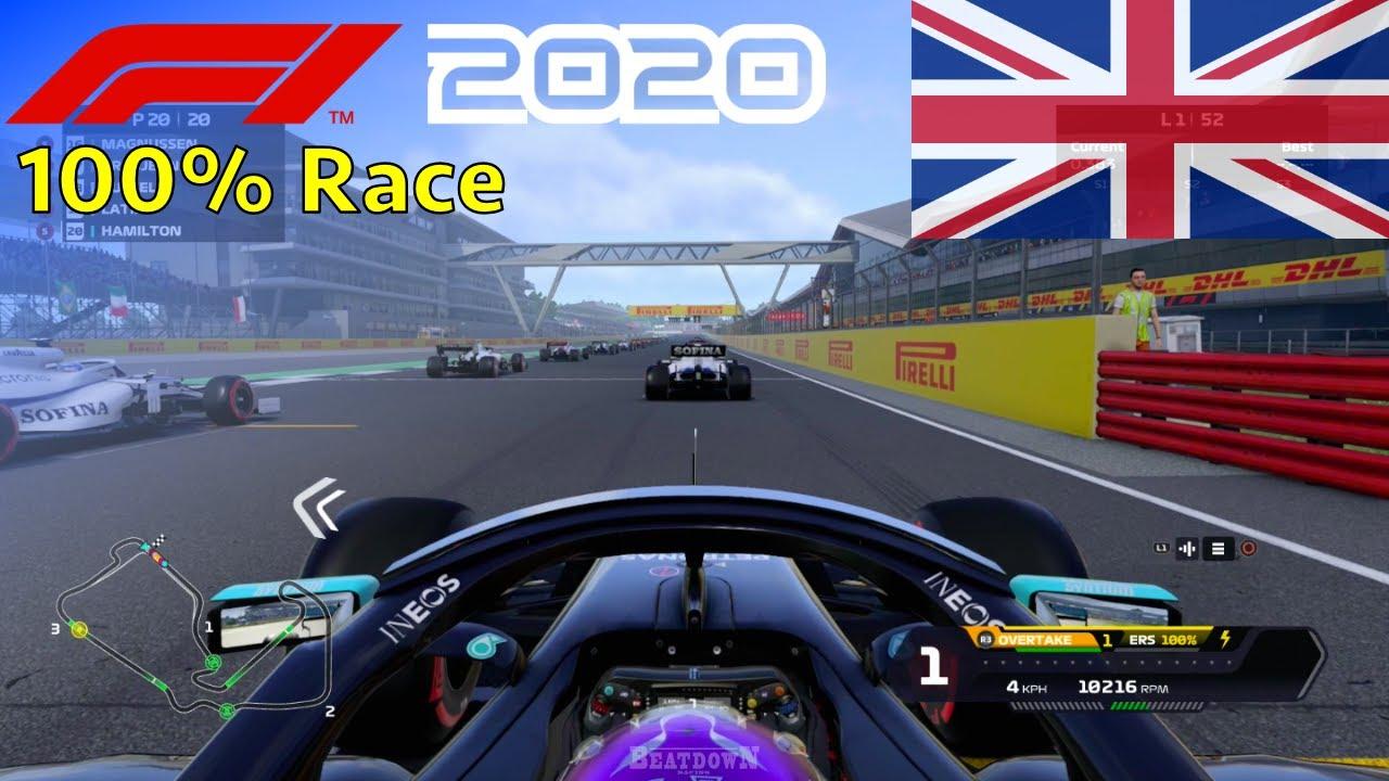 F1 2020 - Let's Make Hamilton 7x World Champion #12: 100% Race Silverstone