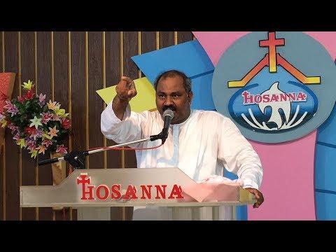 28-5-2017  HOSANNA MINISTRIES Pas.JOHN WESLEY Message