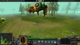 Dota 2 Unusual Waldi the Faithful Bleak Hallucination Diretide Orange