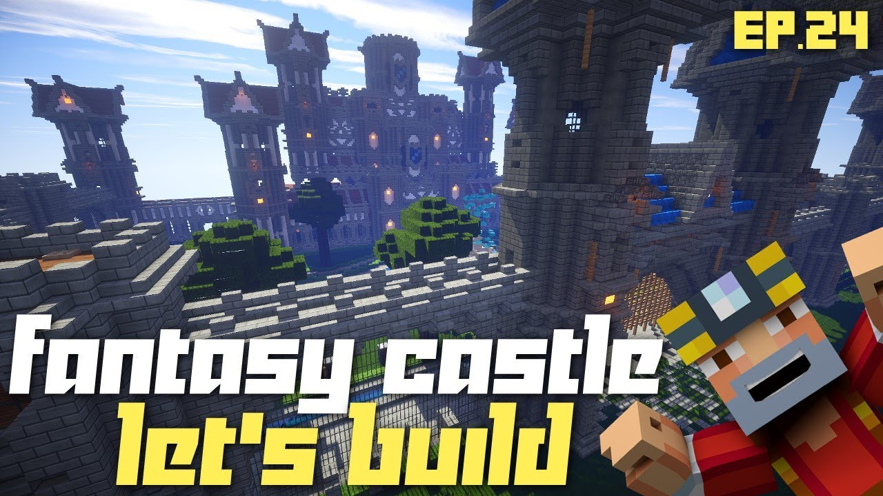 how to build a castle in minecraft xbox 360