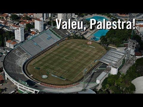 A despedida do Palestra: Palmeiras 4 x 2 Grêmio