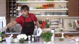 Завтрак в Анетти: белковый омлет с овощами и копчёным лососем