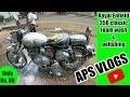 Royal Enfield classic 350 Washing and polishing | bike wash| Foam wash | aps vlogs