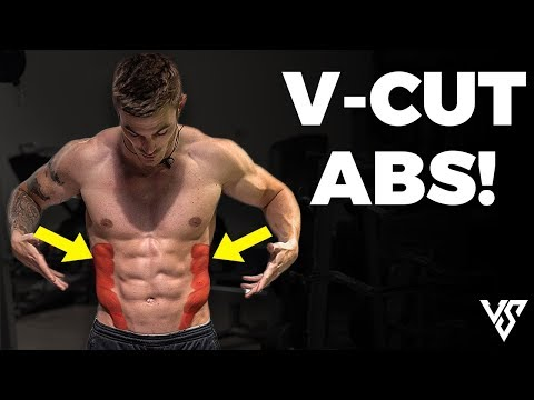 8 Minute V Cut Abs Workout (DO THIS FROM HOME!)