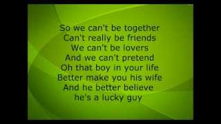 Lucky Guy- David Choi (Lyrics)