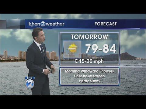 KHON2 weather forecast