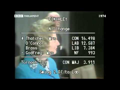 General Election October 1974: Finchley declaration