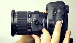 объектив Samyang T-S 24/3.5. Видео тест