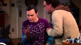 The Big Bang Theory S06E06 звонок хокинга шелдону