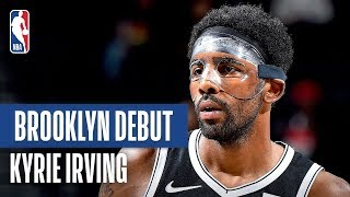 Kyrie Scores 19 In Preseason Debut | 2019 NBA Preseason