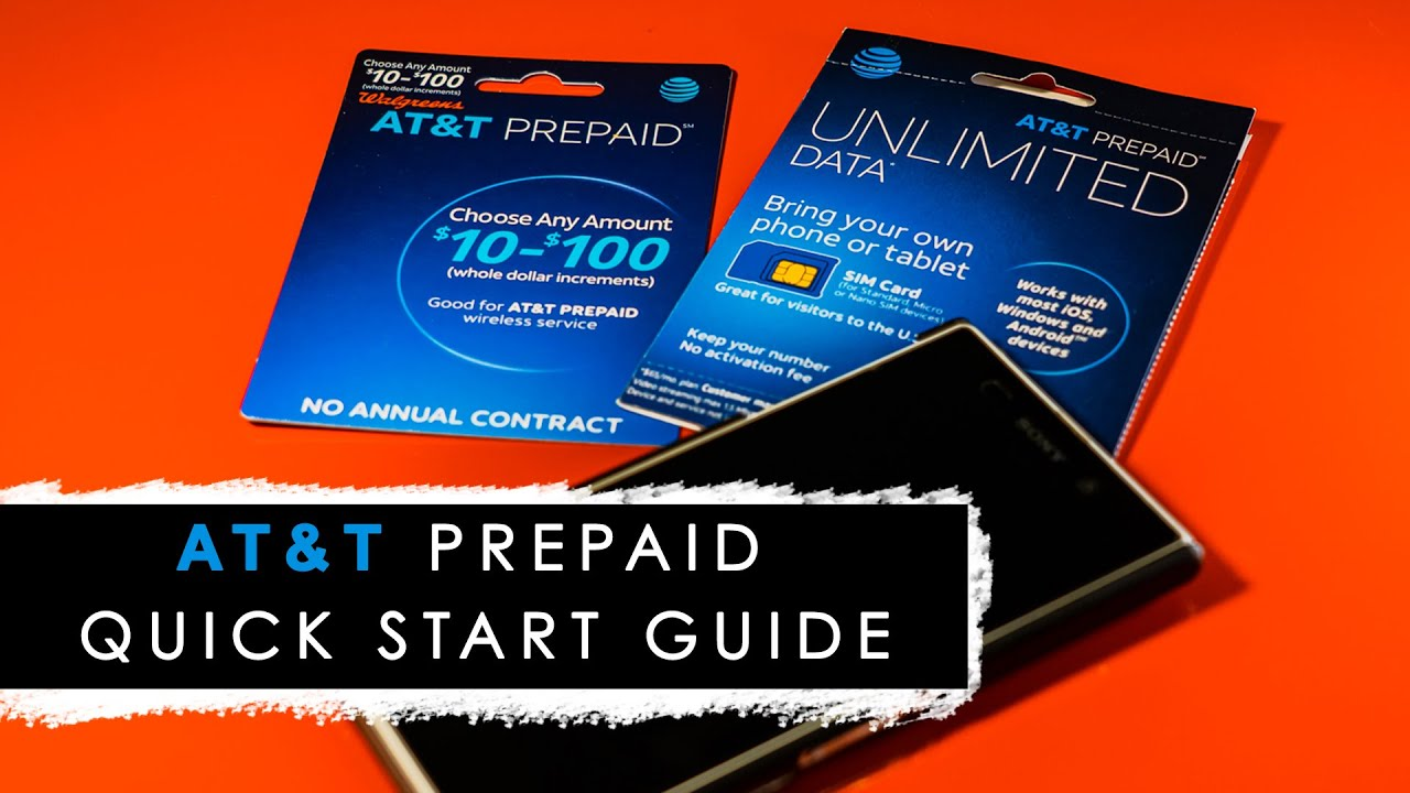 How To Activate At T Prepaid Sim Card Without The Internet Best For Tourists To The U S Youtube