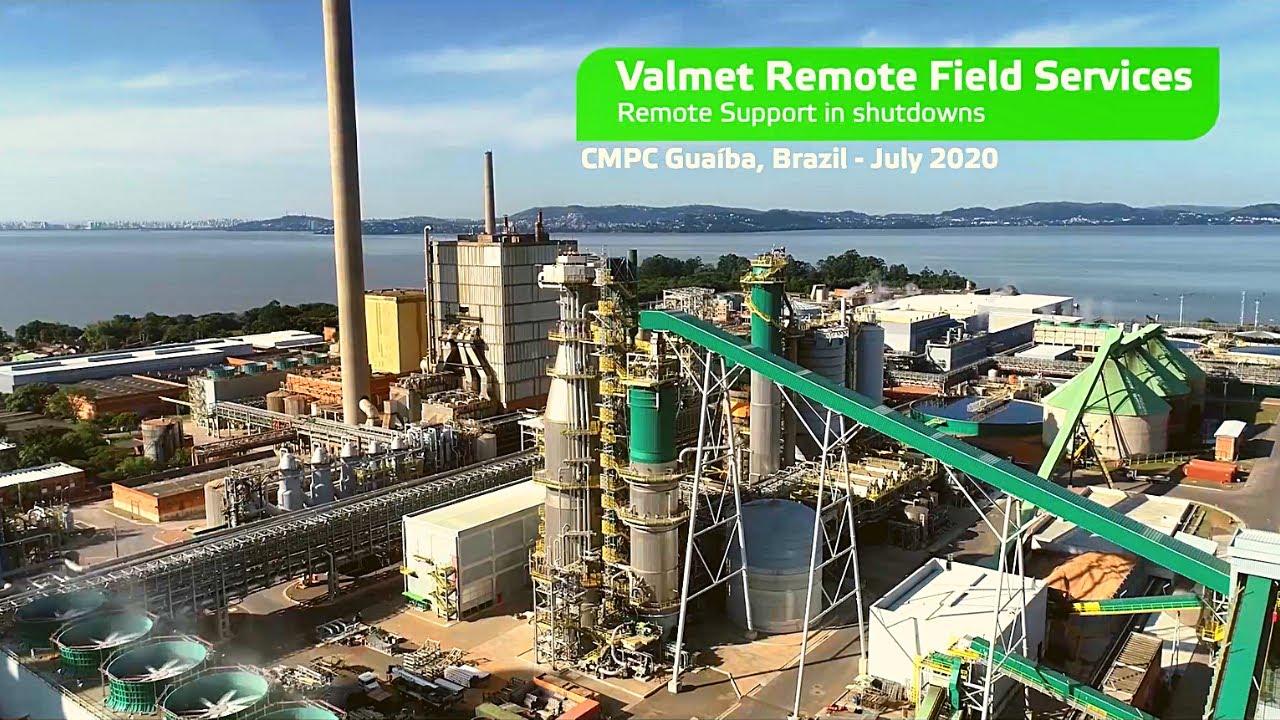 Valmet realiza com sucesso manutenção com Vuzix M400