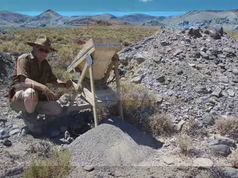 Sampling for Gold around Fallon, Nevada
