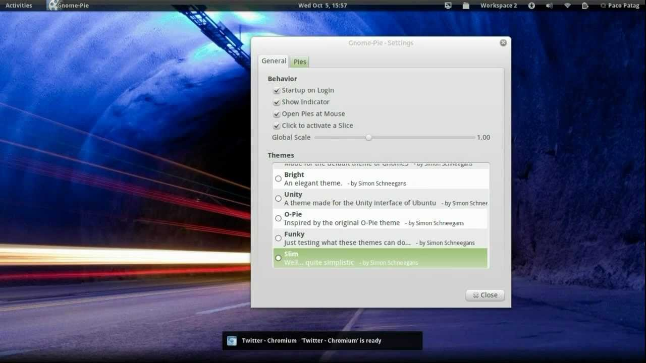 Gnome Shell 3 2 in Ubuntu 11 10 Beta 2