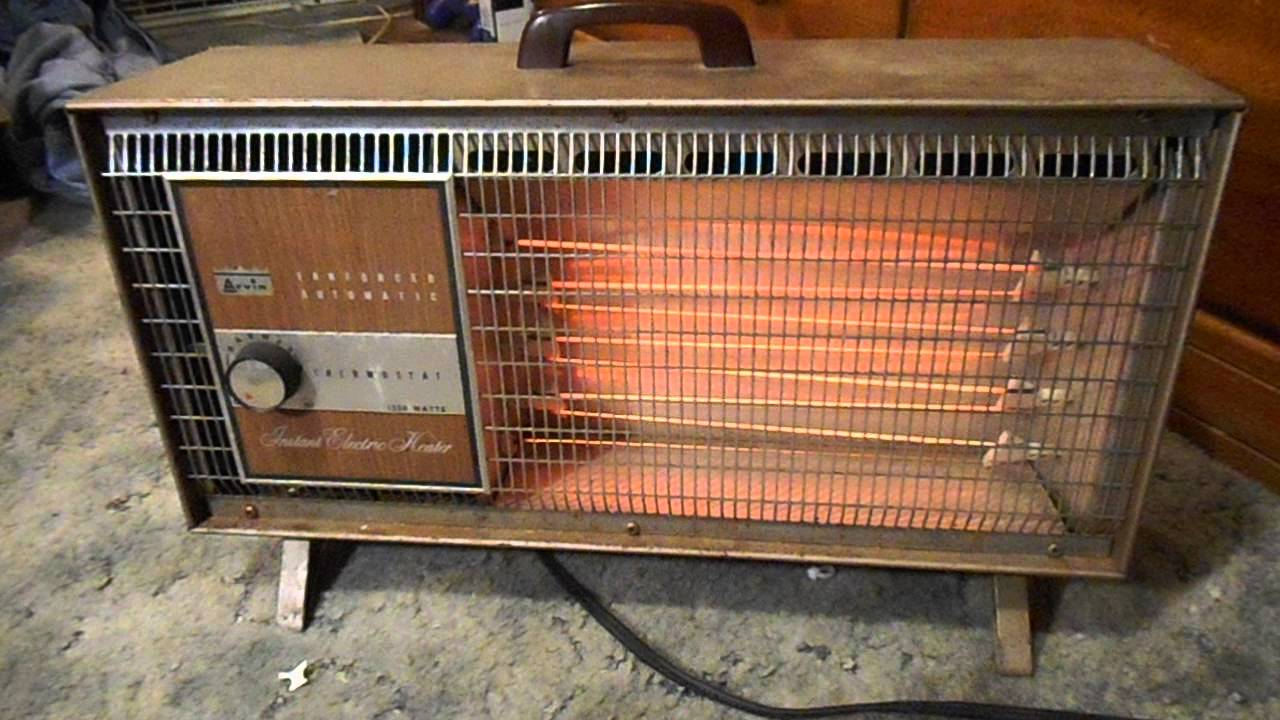 Vintage Arvin Quot Instant Electric Heat Quot Heater Youtube