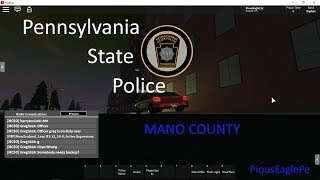 Patrolling with PSP Colonel TankRacer! || Mano County Trooper