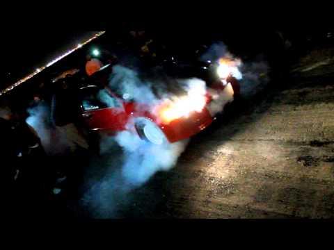 Asylum Racing integra VS Team Adrenalin Civic street racing