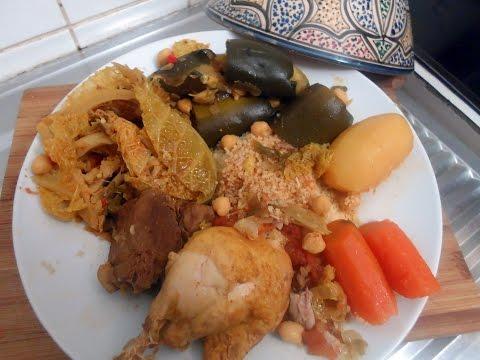 Rouz riz jerbi au calamar doovi - Recette cuisine couscous tunisien ...