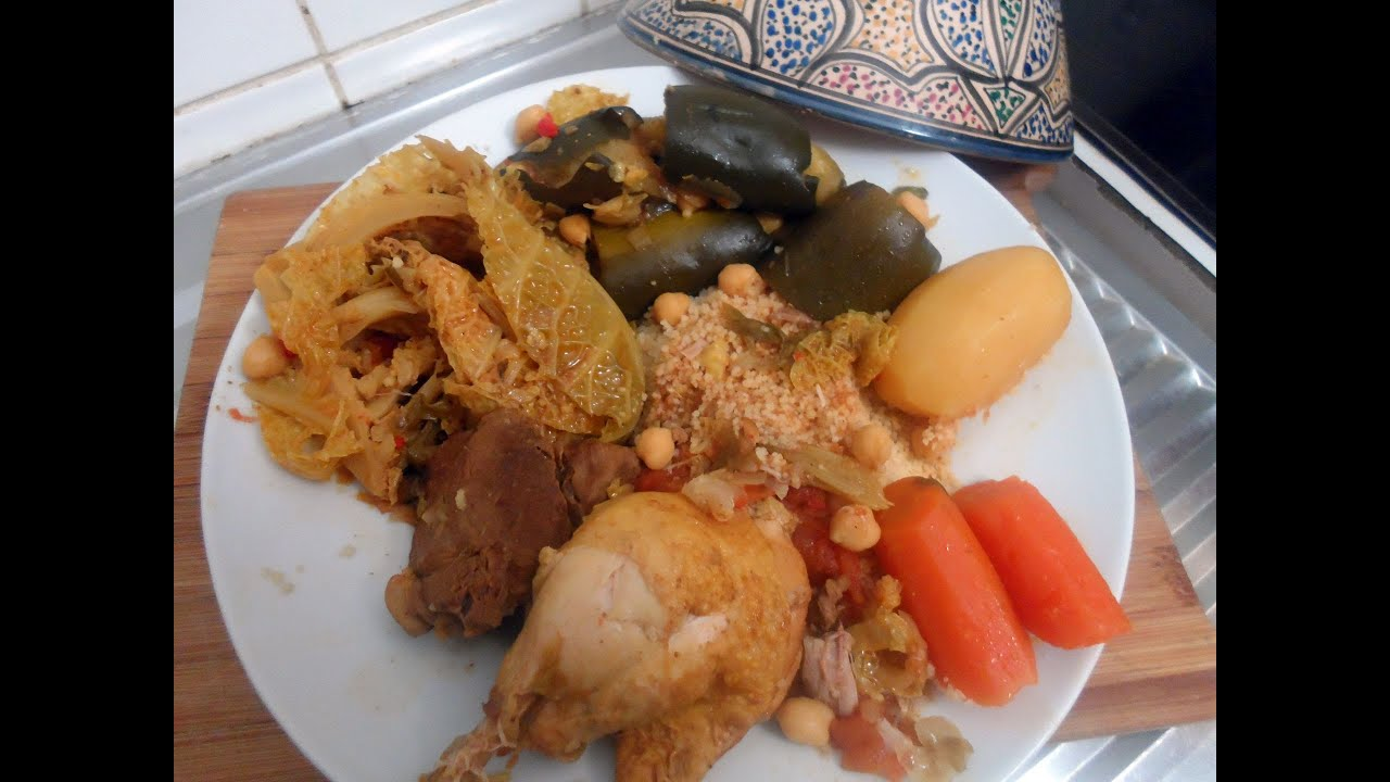 Cuisine tunisienne le couscous tunisien youtube for Cuisine tunisienne