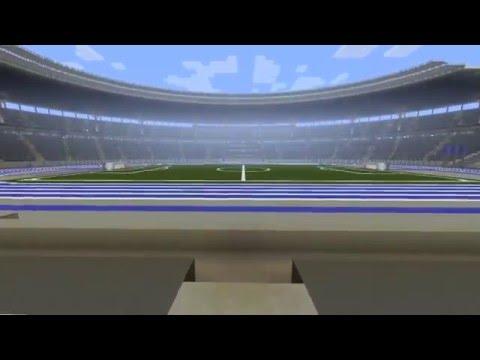 Minecraft Stadium - Megabuild - Olympiastadion (berlin olympic stadium)