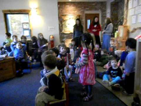 Zimmer Preschool celebrates Hanukkah 2010  b