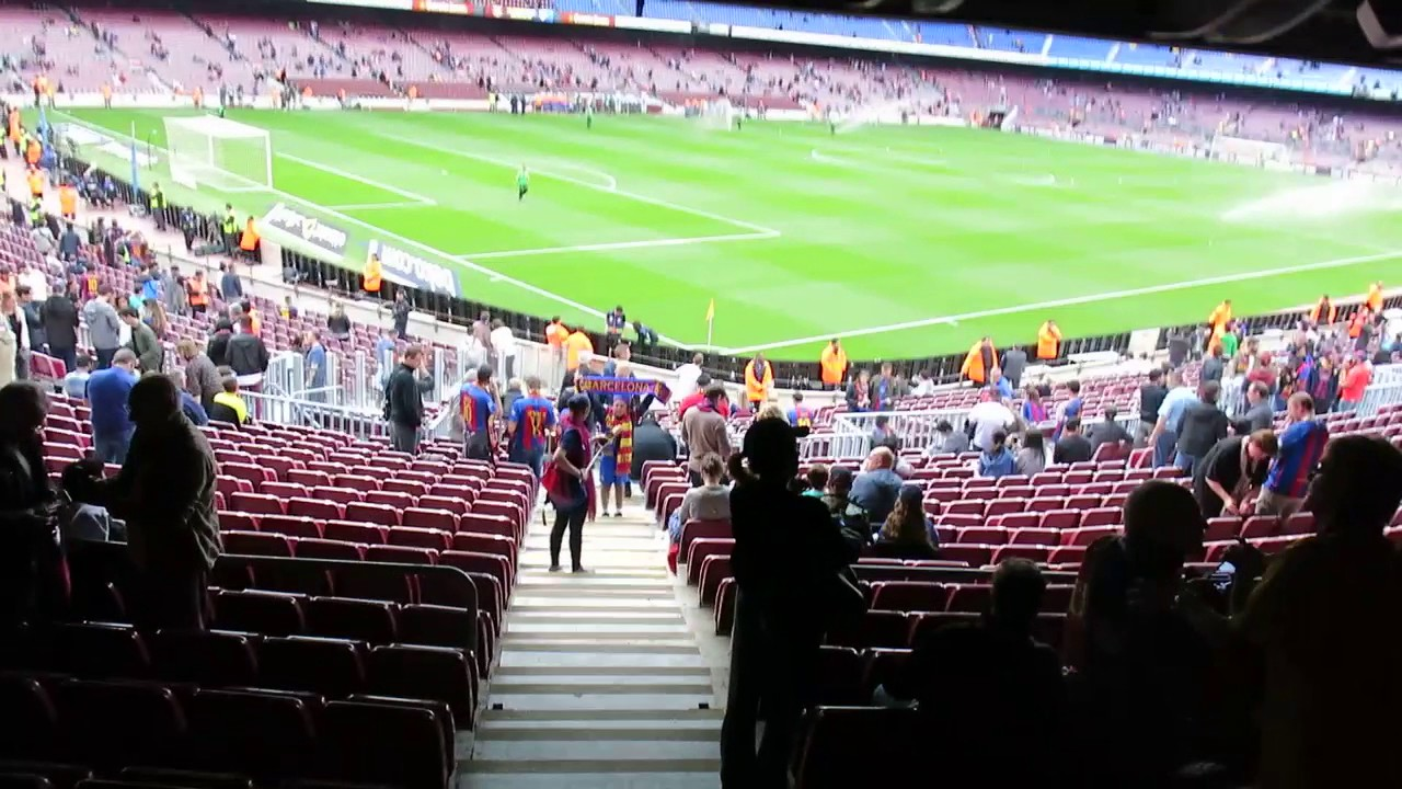 Mapa Asientos Camp Nou Fc Barcelona Camp Nou Access To Your Ticket Seats Information