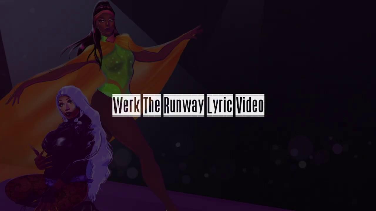 Naomi Wynters X B. Ames - Werk The Runway [Lyric Video]