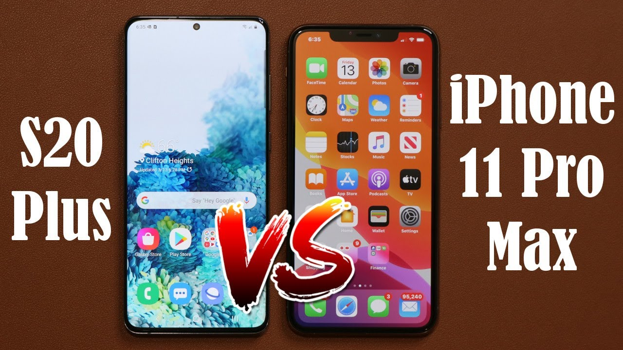 Photo of Samsung Galaxy S20 Plus vs iPhone 11 Pro Max – Full Comparison – ايفون