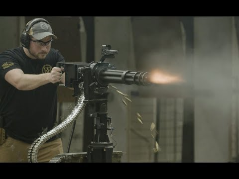 How to Own and Operate a M134 Minigun!