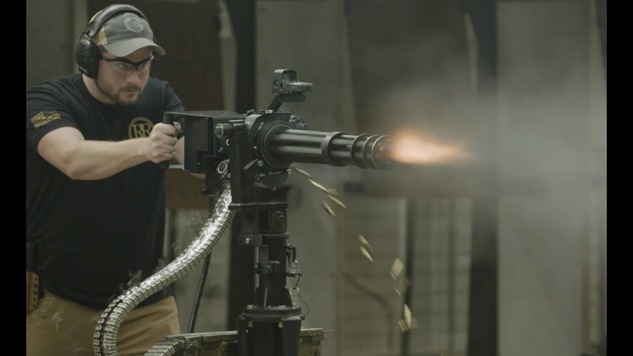 How To Own And Operate A M134 Minigun