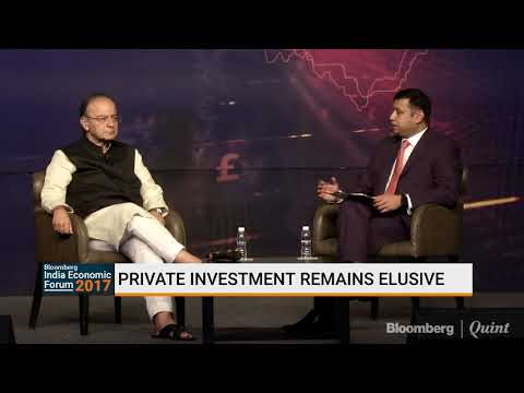 Bloomberg Economic Forum: In Conversation with Arun Jaitley