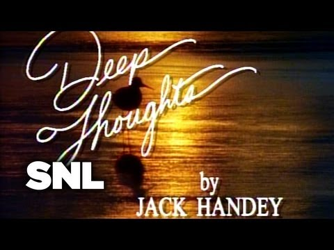 Deep Thoughts: Good Novel - Saturday Night Live
