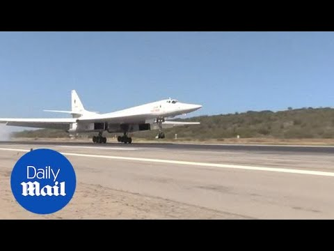 Russian strategic bomber aircrafts take part in Venezuela drills