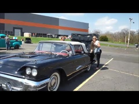 1959 Thunderbird Celebrates The Sunshine At The 6th Annual Dormans Helps Car Show
