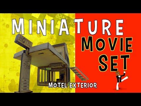 How to film a motel miniature | Drawback of a storage facility film studio