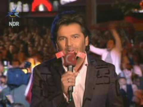 Eurovision 2004 -  Who is speaking Turkish?
