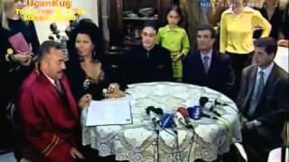 DIVA Bülent Ersoy   Cem Adler nikah görüntüleri Televole 06 04 1998