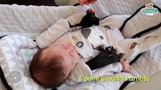 Dětské polohovatelné lehátko Beaba Up & Down II 4
