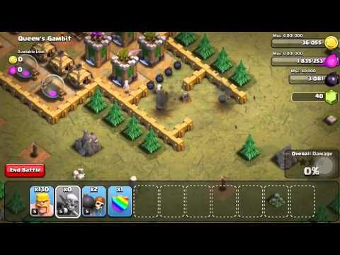 Clash Of Clans Level 32: Queen's Gambit (walkthrough)