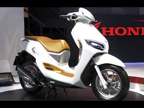 honda es01 electric scooter 2018 youtube. Black Bedroom Furniture Sets. Home Design Ideas