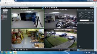 960h remote access setup for pc port forwarding